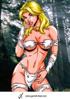 Savage Land Emma Frost 2 by Mythical-Mommy