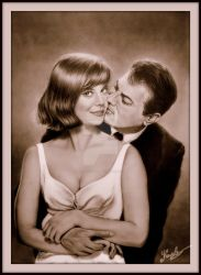 Natalie Wood and Tony Curtis by Life-Is-Art-88