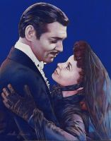 Rhett and Scarlet (Gone With the Wind) by Mummyscurse