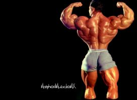 Tight sweat shorts by MorphedMuscle