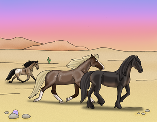 Desert Weekenders 1 by Allicorn