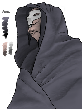 Hooded Death Monk by AfterField