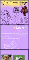 Mimi's Goat guide Part 2: colors by Mimkage