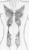 Butterfly Tattoo by Vulgarism