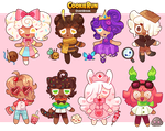 COOKIE RUN ADOPTS [OPEN 1/7] by barafrog
