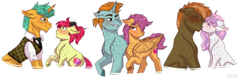 CMC ships by ArtistCoolPony