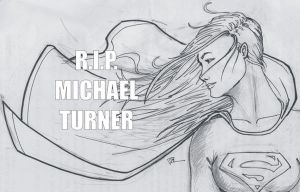 R.I.P. Michael Turner by MiddleLightRiver