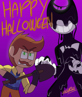 Happy inky Halloween! by Wyldstyle101