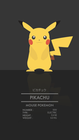 Pikachu by WEAPONIX