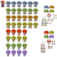 Dry Dry Toads (Paper Mario Style) by DerekminyA