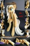 Life size(sitting/laying down)Applejack for sale by agatrix