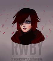 Ruby Rose - RWBY by CieIty