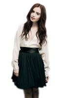 Lily Collins PNG by emimiller