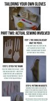 Gloves Tutorial: Part II, Sewing by Eightohsixtythird