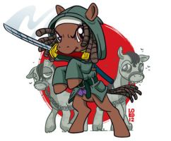 The Trotting Dead- Michony by lordmesa