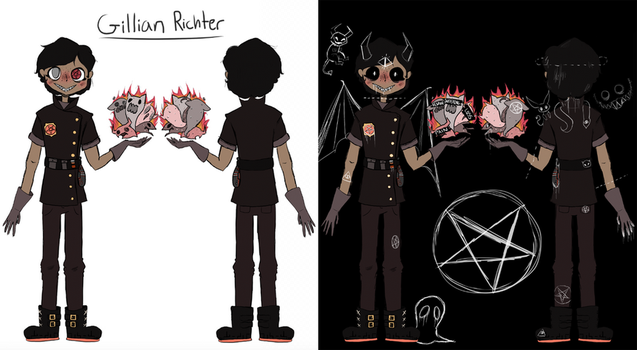 Edgy Boi Reference Sheet by Aioma