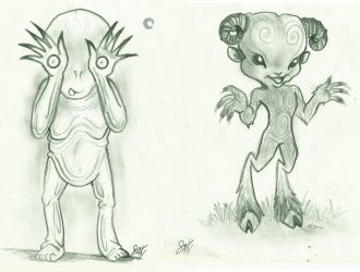 morDF draws (23) little Toro monsters by Freak-a-lot