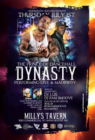 dynasty flyer by DeityDesignz