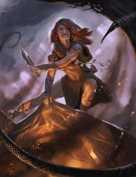 Mythical Boudica by Rhineville