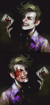 Joker by perditionxroad