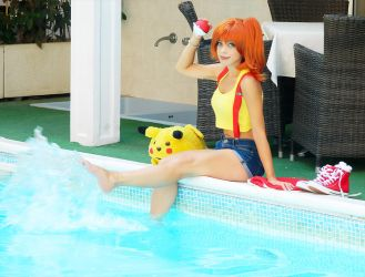 Misty Pokemon Cosplay by ClajreFay