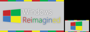 Windows Reimagined Logo Contest Contribution by Tecior