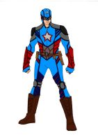 Captain America Redesign! by Comicbookguy54321