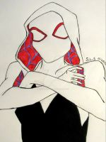 Spider-Gwen by Venoms-Lil-Nibble