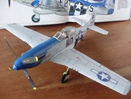 P-51D 'Cripes A' Mighty 3rd' by Mrpalaces