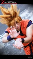 Super Saiyan kame hame ha by jeffbedash325