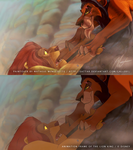 BrasilART Challenge - Disney Paintover - Lion King by SaTTaR