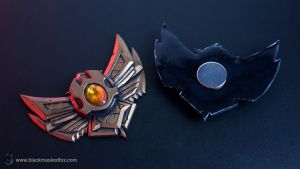 League of Legends Bronze Badge Magnet by blackmaskedfox