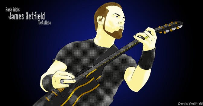 James Hetfield by Twisted-Illusions-86