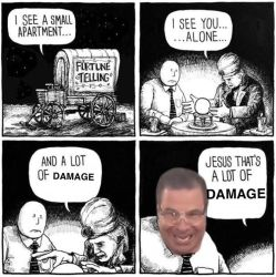 JESUS THAT'S A LOT OF DAMAGE by DeviationOverAll