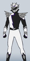 HyperForce White Ranger by RiderB0y