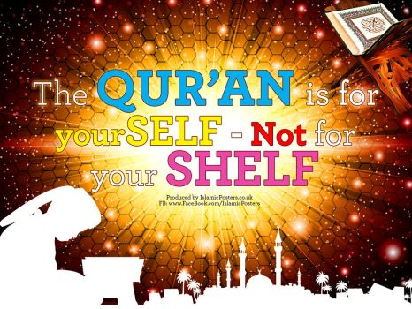Quran is for yourself by billax