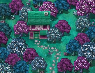 Faerie Cottage Parallax Map by lenayga