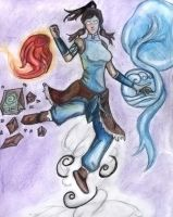 Master of All Four Elements by zsorzset