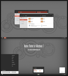 Numix Theme For Windows 7 by Cleodesktop