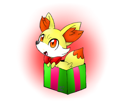 here is a Fennekin just for you! by Spice5400