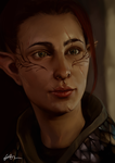 Ulla'ra Lavellan The Inquisitor by dreNerd