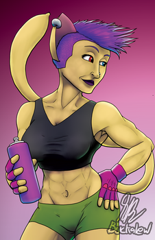 Purrfect Workout by MrBuckalew