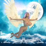 YS Goddess Reah - Upon Divine Wings by AngieAngelFish