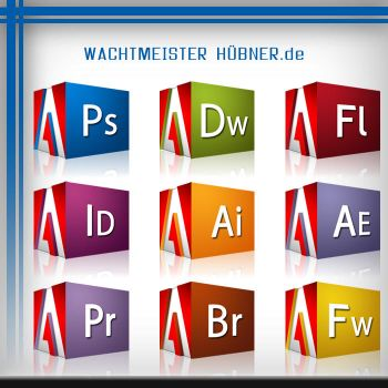 Adobe CS3 Set 'CUBE' by Wachtmeister