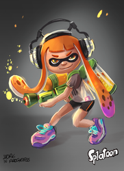 Splatoon by mafay