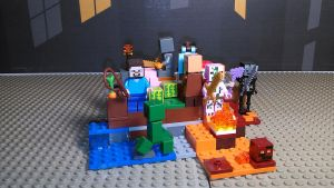 Minecraft Lava Beach by sideshowOfMadness