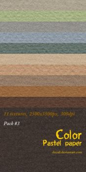 Color Paper Pack03 by Docali
