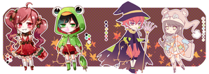 Autumn Collab Adopts Auction[1/4 open] by Chanz-diri