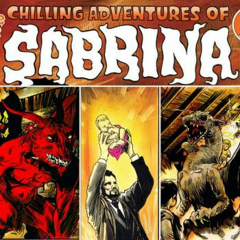 July 5th-Chilling Adventures of Sabrina #7  by RobertHack