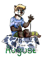 august otter badge by not-fun